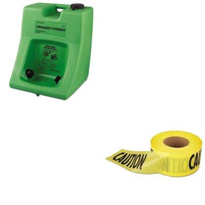 KITEML711001FND320002300000 - Value Kit - Honeywell Fendall Porta Stream II Eye Wash Station (FND320002300000) and Empire Level Caution Barricade Tape (EML711001)