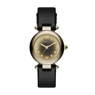 Marc Jacobs Women's Dotty Black Leather Watch - MJ1414