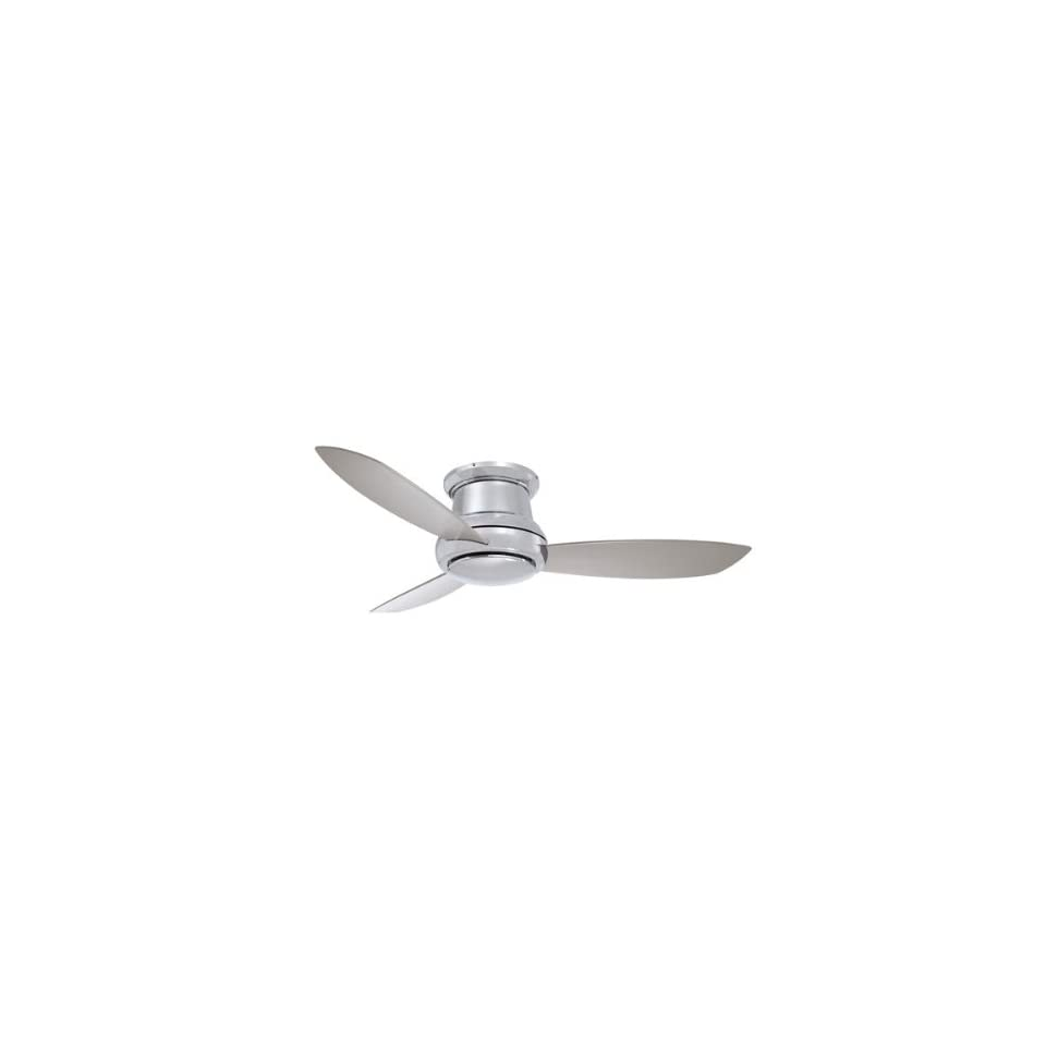 Minka Aire F519 BN 1 Light Ceiling Fans   Brushed Nickel
