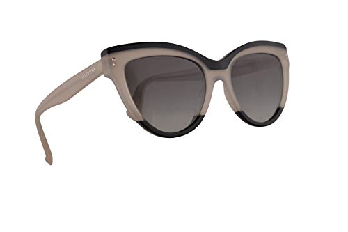 Valentino VA 4034 Sunglasses Black Ivory w/Grey Gradient for sale  Delivered anywhere in USA