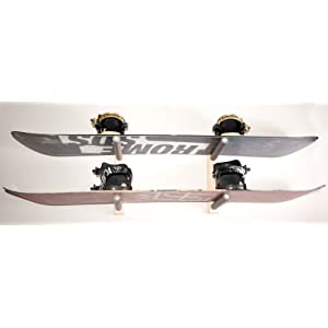 Snowboard Wall Rack Mount Holds 2 Boards