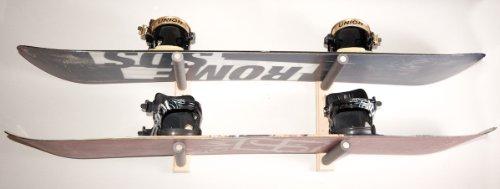 Snowboard Wall Rack Mount - Holds 2 Boards by Pro Board Racks
