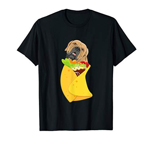 Cinco de Mayo Burrito Boerboel T shirt