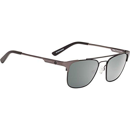Spy Optic Westport Polarized Sunglasses Matte Gunmetal/Matte Black / Happy - Sunglasses Spy Gunmetal