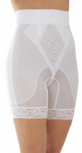 Rago Shapewear High-Waist Long Leg Pantie Girdle Style 6206 - Black - 3XLarge