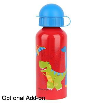 Personalized Quilted Dinosaur Embroidered Backpack