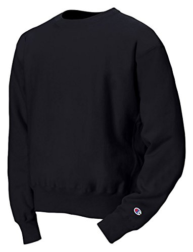 Champion Reverse Weave Crew_Black_Small