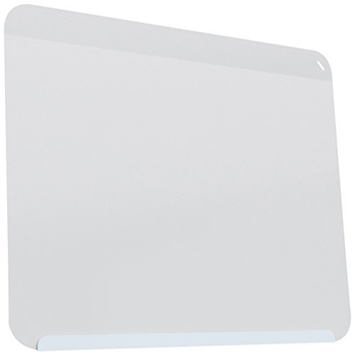 24-3/8''x30'' LINK Board Premium Powder-Coated Magnetic Whiteboard - Soft Blue Base/White Face by Ghent