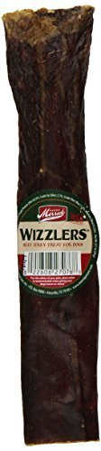 Merrick 8-Inch Wizzlers Beef Treat, 75 Count by Merrick