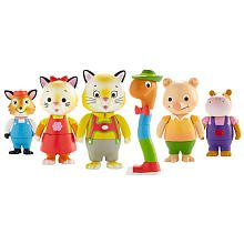 Richard Scarry's Busytown Town Collector Set of Six Figures