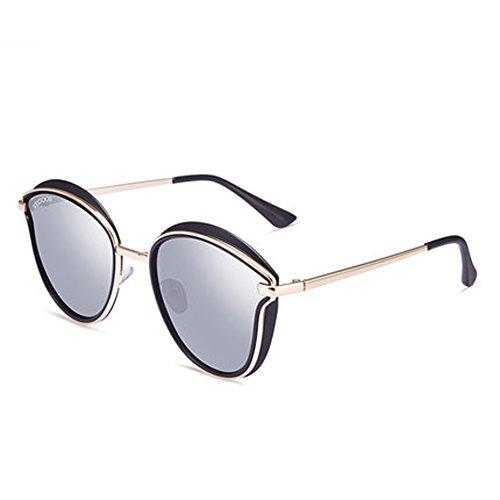 en voyage air plein soleil de lunettes rétro soleil Mme D de soleil nouvelles de lunettes polarisées de lunettes lunettes cadre ronde TwUHaq