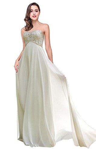 - Favors Dress Women's Sweetheart Beach Wedding Dress Bead Bridal Gown Empire Ivory 24W
