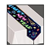 Kitchen & Housewares : Printed Happy New Year Table Runner Party Accessory (1 count) (1/Pkg)