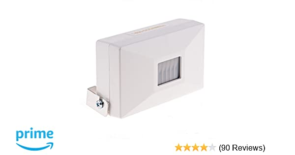 Amazon simple to use entrance alert chime with pir sensor amazon simple to use entrance alert chime with pir sensor adjustable volume control commercial grade entry alert doorbell for smaller retail stores solutioingenieria Image collections