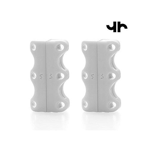 Unisex adulto bianco Hasëndad adulto per Taglia Unisex tiehard magnetiche Chiusure unica bianco scarpe Tiehard UxxXYqFO