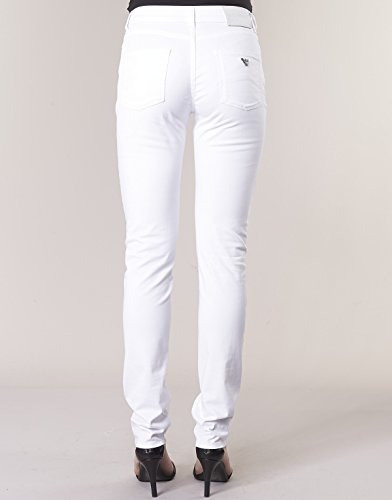 Blanc 5 Blanc Pocket Jeans Slim Armani Femmes fit nTzSAq0pw