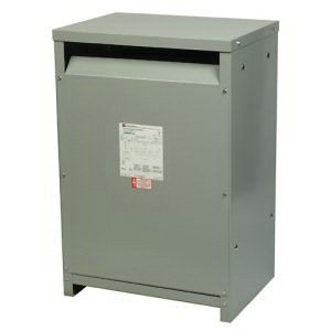 Cutler-Hammer V48M28T3016 Efficient Transformer, 480 V, 208/120 V, 30 kVA, 60 Hz, 3
