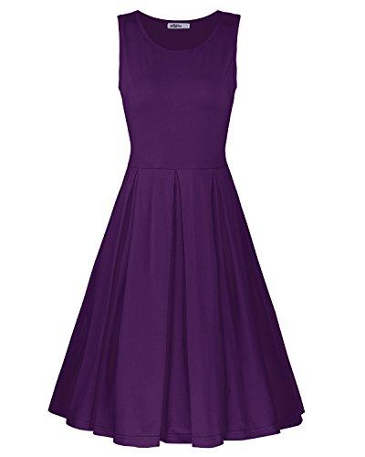 Navy Blue Dress - 3