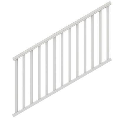 (Veranda 6 ft. x 36 in. White Traditional Stair Kit )