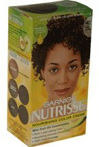 Garnier Nutrisse Traitement nourrissant couleur aux fruits de concentrés d'huile, niveau 3 permanent, brun foncé 40 (pack de 3)