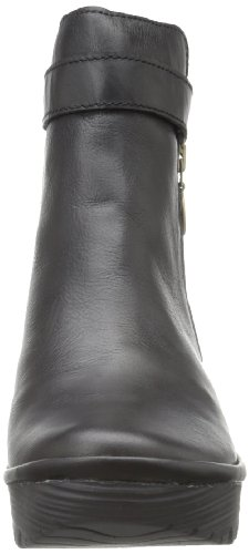 Mouche London Womens Yava Bottine Noire