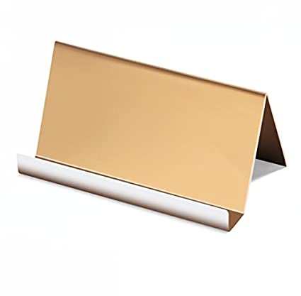 Amazoncom Nipole Highend Business Card Holder Stainless Steel