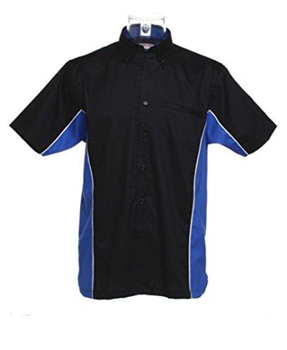 Gamegear - Camisas - para mujer Black/ Royal/ White