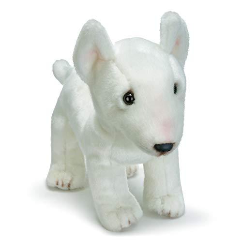 - DEMDACO White Bull Terrier Children's Plush Stuffed Animal Toy