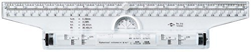 Alvin Rolling Ruler-12 Inch by Alvin