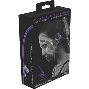 Warrior By Ihip Athletic Sports Earphones Cerebral