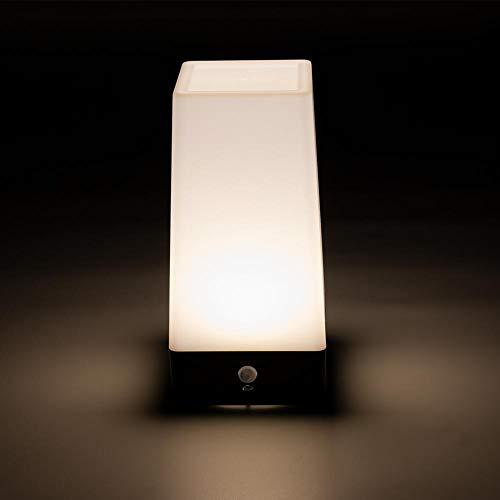Matefielduk Lámpara de LED cuadrada Sensor de movimiento ...