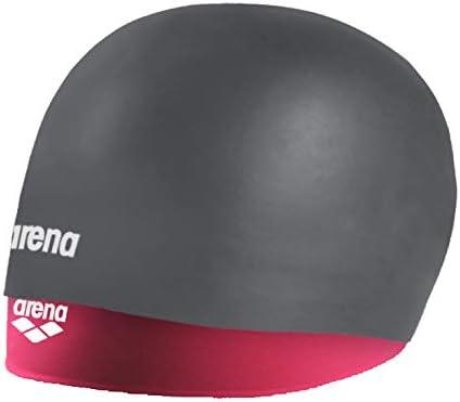 ARENA 94014 - Gorro de natación (Silicona, para Pelo Largo ...