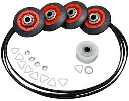 4392067 Dryer Repair Kit (4 Rollers, Band, Idler Wheel, Clips, Washers)