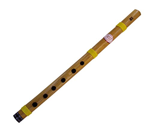 Valentine Day Gifts C-Key Bamboo Flutes Indian Bansuri Fipple Type - Musical Instruments for Beginners & Professionals