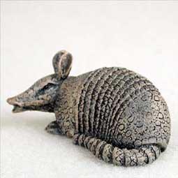 Conversation Concepts Miniature Armadillo Tiny One Figurine Set of 6