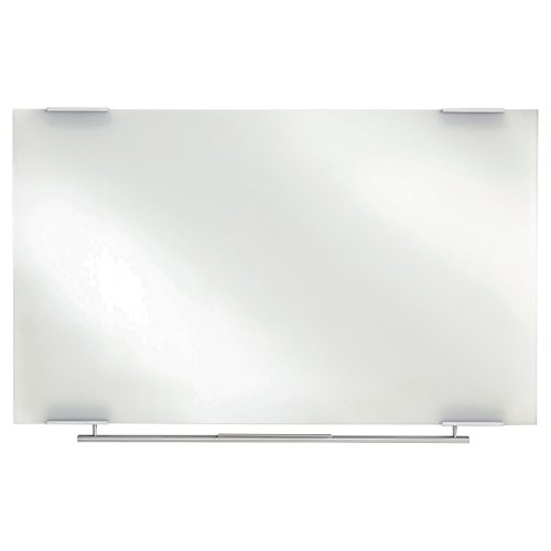 "Iceberg ICE31150 Clarity Glass Dry Erase Whiteboard, 60"" Length x 1"" Width x 36"" Height"
