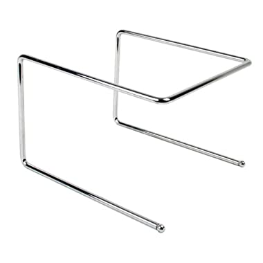 Excellante Pizza Tray Stand, Chrome Plated, 9-1/2 by 9 by 6-1/2-Inch