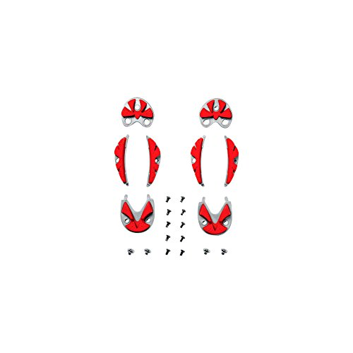 SRS REPLACEMENT SOLES FOR DRAKO GREY/RED -