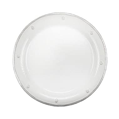 Juliska Berry and Thread  9  Round Dessert/Salad Plate, White