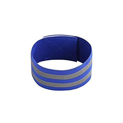 DHDHWL Wristbands Elastic Sport Bandage Reflective Wristband Hand Gym Support Wrist Brace Wrap Tennis Elastic Weat Band Fitness Powerlifting B Estimated Price £12.50 -