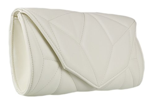 Blanc Pochette Handbags pour femme Girly IF7Cqxwca
