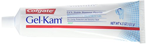 Gel-Kam Fluoride Preventive Treatment Gel Mint Flavor 4.30 - Trays Fluoride