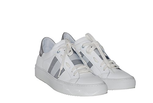 Sneakers Turnschuhe aus Leder Slipper Sportlich Damen RIPA shoes - 05-7601