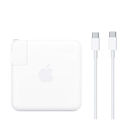 Apple 87W USB-C to USB-C Power Adapter Charger for MacBook Pro 15-inch(Renewed)