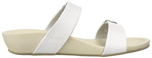 Eastland Women's Sandal White Ann Cape Slide x6BHC
