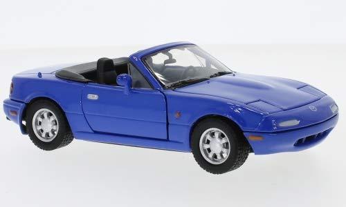 Modellauto Fertigmodell blau Motormax 1:24 Mazda MX-5 Miata
