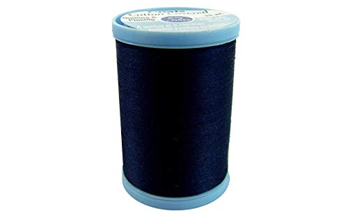 COATS & CLARK S925-4900 Cotton Covered Quilting and Piecing Thread, 250-Yard, Navy ()