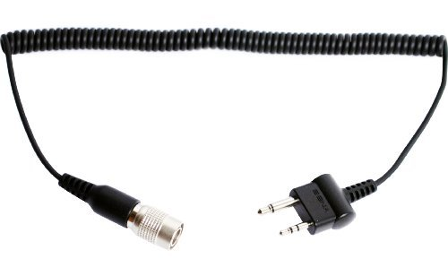 Sena SC-A0117 2-Way Radio Cable with Straight Twin-Pin Connector for Midland and Icom Devices