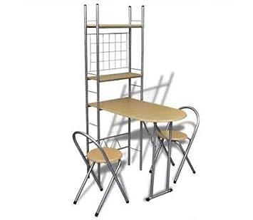 Generic - Juego de 3 sillas de Oficina y estanterías para Ki ...