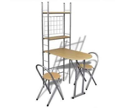 Juego de 3 sillas de Mesa ompact y Comp Comp Comp 3 Piezas ...